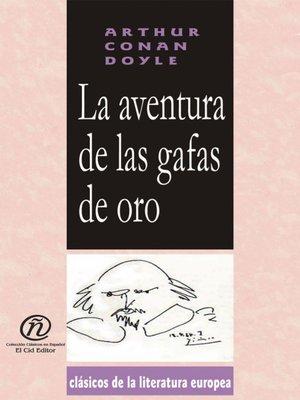 cover image of La aventura de las gafas de oro