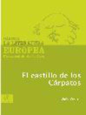 cover image of El castillo de los Cárpatos