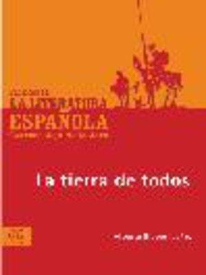 cover image of La tierra de todos