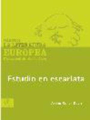 cover image of Estudio en escarlata