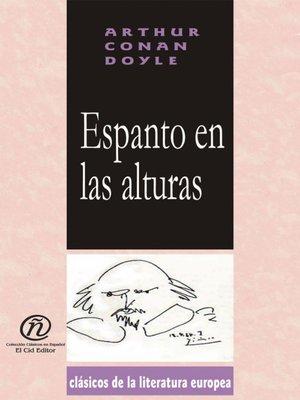 cover image of Espanto en la alturas