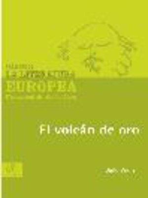 cover image of El volcán de oro