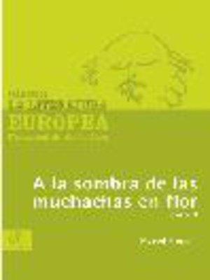 cover image of A la sombra de las muchachas en flor, Tomo 2