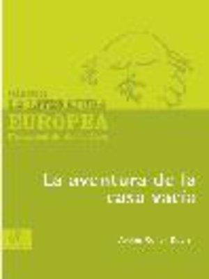 cover image of La aventura de la casa vacía