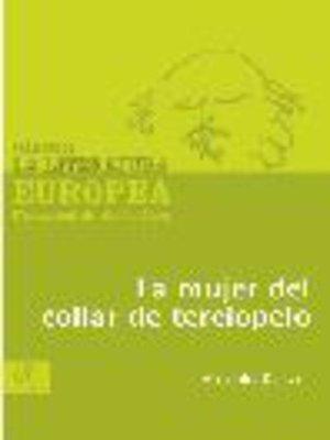 cover image of La mujer del collar de terciopelo