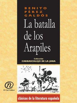 cover image of La batalla de los Arapiles