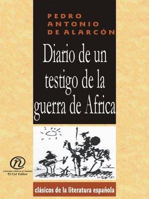 cover image of Diario de Un Testigo de la Guerra de Africa