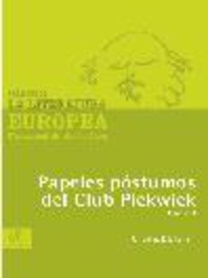 cover image of Papeles póstumos del Club Pickwick, Tomo 1