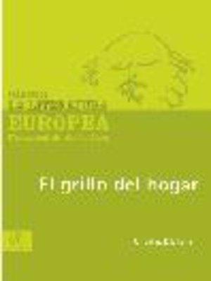 cover image of El grillo del hogar