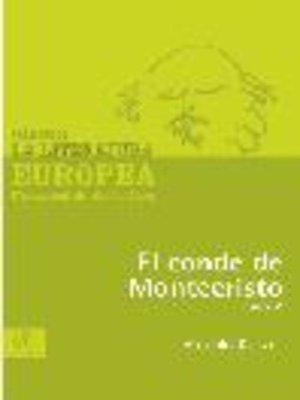cover image of El conde de Montecristo, Tomo 5