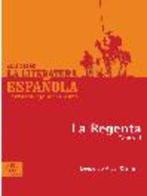 cover image of La regenta, Tomo 2