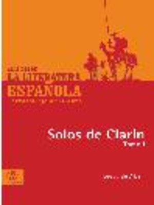 cover image of Solos de Clarín, Tomo 1