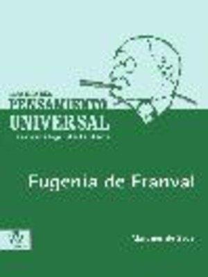 cover image of Eugenia de Franval
