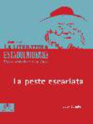 cover image of La peste escarlata