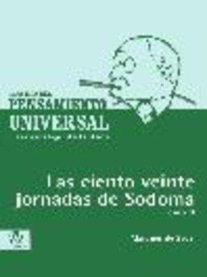 cover image of Los ciento veinte jornadas de Sodoma, Tomo 2
