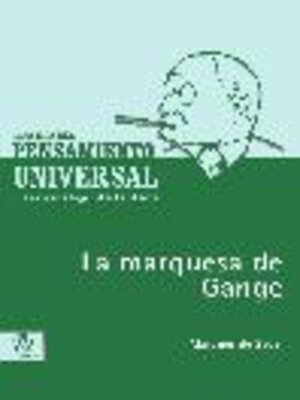 cover image of La marquesa de Gange
