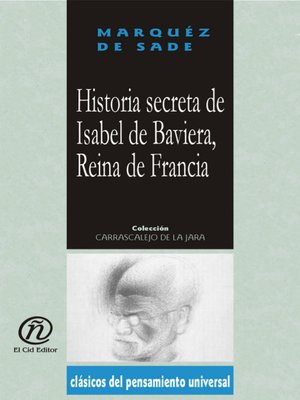 cover image of Historia secreta de Isabel de Baviera, Reina de Francia