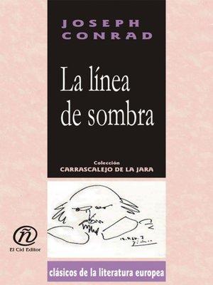 cover image of La línea de sombra