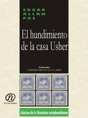 cover image of El hundimiento de la casa Usher