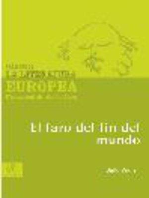 cover image of El faro del fin del mundo