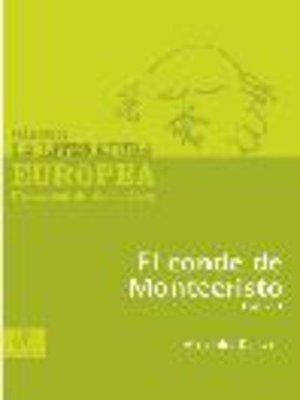 cover image of El conde de Montecristo, Tomo 1