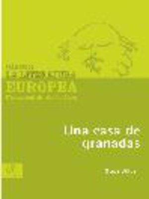cover image of Una casa de granadas