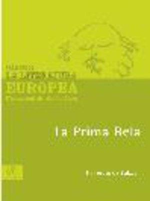 cover image of La prima Bela