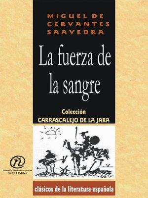cover image of La fuerza de la sangre