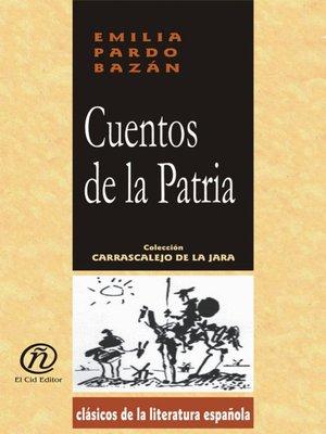 cover image of Cuentos de la Patria