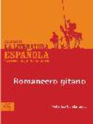 cover image of Romancero gitano