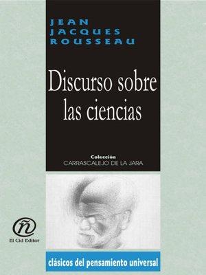 cover image of Discurso Sobre las Ciencias