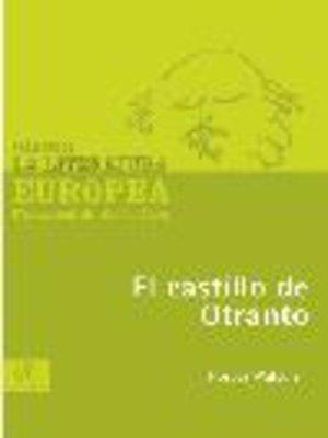 cover image of El castillo de Otranto