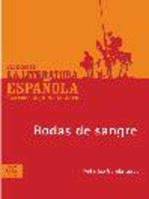 cover image of Bodas de sangre