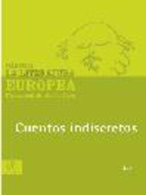 cover image of Cuentos indiscretos