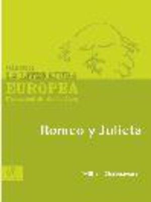 cover image of Romeo y Julieta
