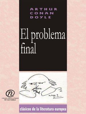 cover image of El problema final