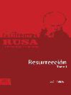 cover image of Resurreción, Tomo 1