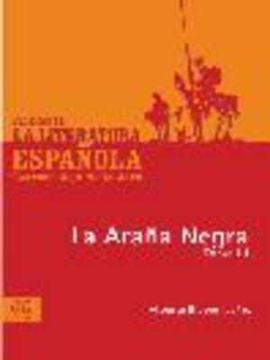 cover image of La araña negra, Tomo 3