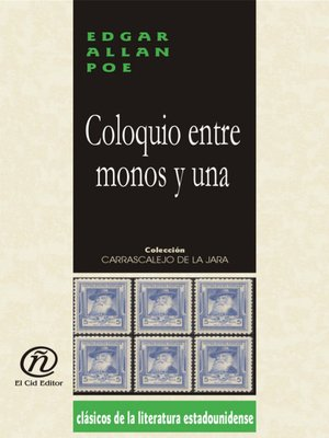 cover image of Coloquio Entre Monos y Una