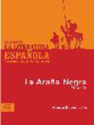 cover image of La araña negra, Tomo 4