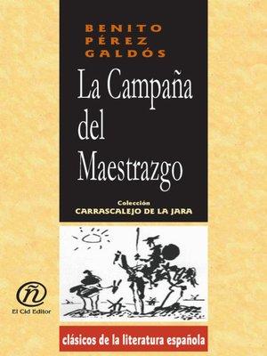 cover image of La campaña del Maestrazgo