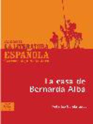 cover image of La casa de Bernarda Alba