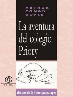 cover image of La aventura del colegio Priory