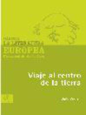 cover image of Viaje al centro de la tierra