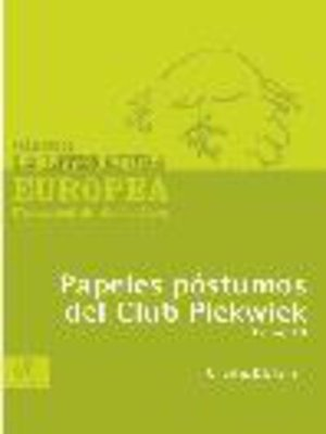 cover image of Papeles póstumos del Club Pickwick, Tomo 3