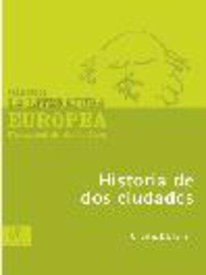cover image of Historia de dos ciudades