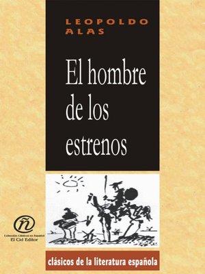 cover image of El hombre de los estrenos