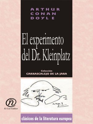 cover image of El experimento del Dr. Kleinplatz