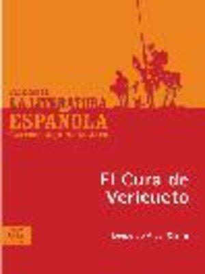 cover image of El Cura de Vericueto