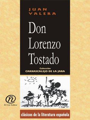 cover image of Don Lorenzo Tostado